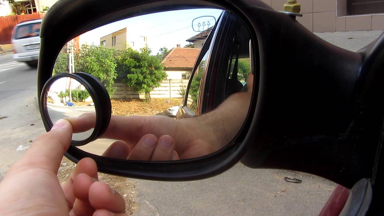 Blind Spot Mirror Unboxing Installation Test