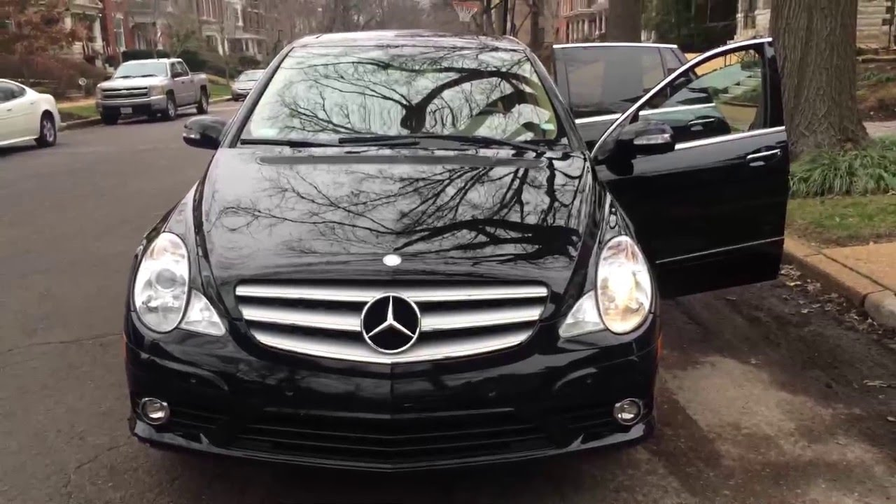 2008 mercedes benz r350 91k miles youtube for Mercedes benz r350 2008