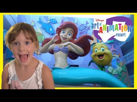 Disney World Art Of Animation Princess Ariel Room Tour with The Disney Toy Collector