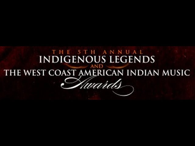 2014 West Coast American Indian Music Awards performance - Woman Of Red (original song) Aug 30 2014