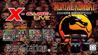 MORTAL KOMBAT ARCADE KOLLECTION - PLAYSTATION 2  ( XGAMELIVE )