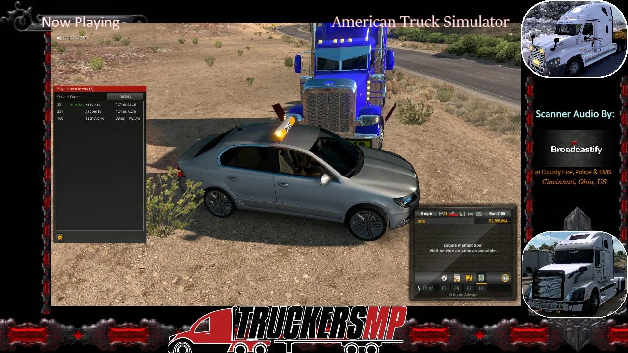 Trucker Saves Wrecked Pilot Car
