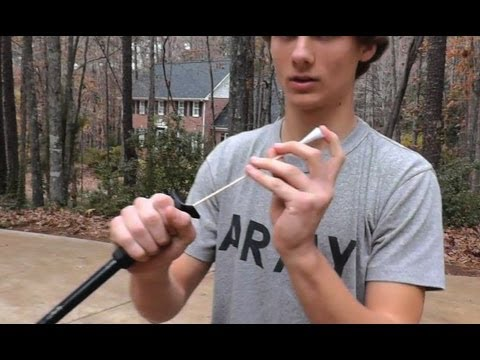 How To Make Blowgun Darts (Very Easy)