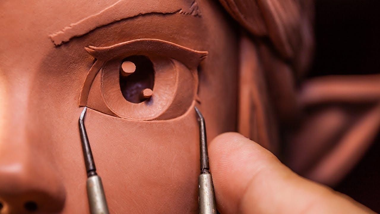 Download Sculpting Link from The Legend of Zelda Traditionally - Sculpture_Geek