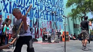 Secret Red Hot Chili Peppers jam for kids at music camp in Watts