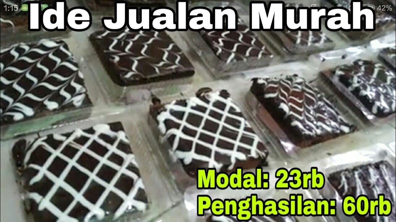 Untung Banyak Dengan Jualan Brownies Siram Coklat 1 Resep Menghasilkan 30 Mika Brownies