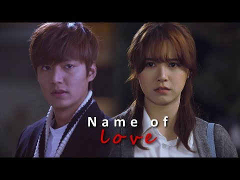 Lee Min Ho and Goo Hye Sun ll In the Name of Love 2018