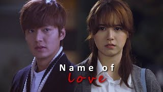 Video Lee Min Ho and Goo Hye Sun ll In the Name of Love 2018 download MP3, 3GP, MP4, WEBM, AVI, FLV September 2018