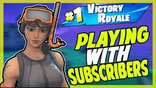 Fortnite 'SEASON 6 HYPE!! -/ PLAYING WITH SUBSCRIBERS (Z-Bucks) // Xbox One // Victoires: 665 '//