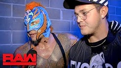 Rey Mysterio on why he didn't retire: Raw Exclusive, Sept. 23, 2019