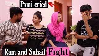 Ram and Suhail Extreme Fight Prank on Jaanu and Pami ( Pami Cried )