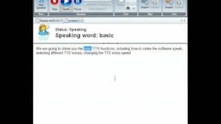 Text to Speech Reader.