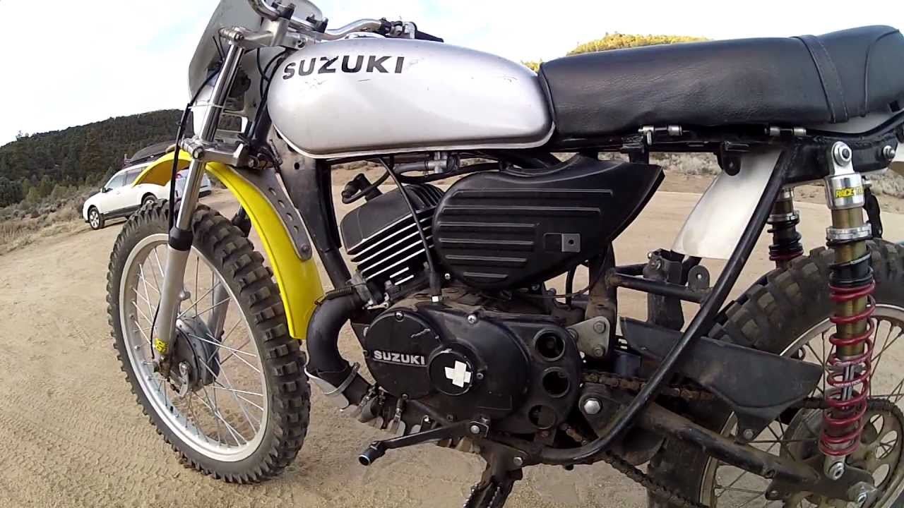 1975 ts100 w rt genuine suzuki racing and tuning kit package youtube. Black Bedroom Furniture Sets. Home Design Ideas