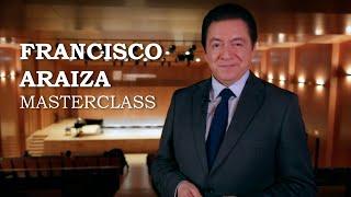 Masterclass amb Francisco Araiza - Cicle Liceu Cambra