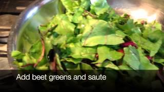 Sauteed Beet Greens Part 2