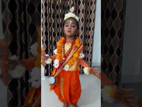 Fancy Dress Mythological Creator Naradmuni By Mrunali Youtube