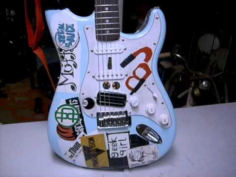 Billie Joe Armstrong Blue Strat Replica