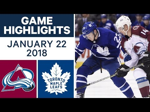 NHL game in 4 minutes: Avalanche vs. Maple Leafs
