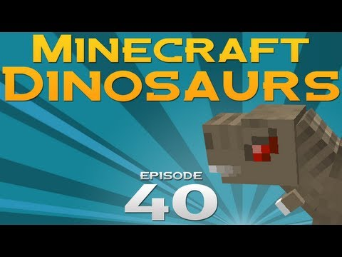 Minecraft Dinosaurs! - Episode 40 - Boring build video