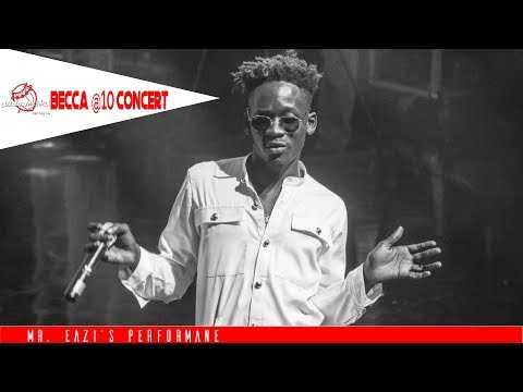 """Mr  Eazi's tells Becca she's His """"Number 1"""" at Becca @ 10 Unveiling Concert"""