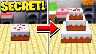 HOW TO GET SECRET FOOD IN MINECRAFT!