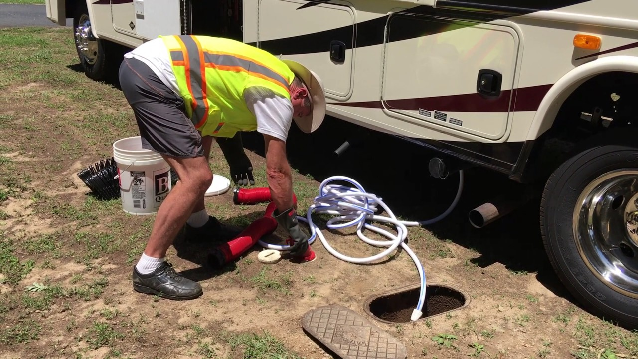 Rv park with sewer hook up