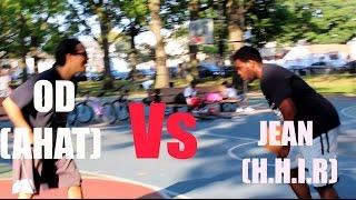 ahat vs h h i r one on one basketball game h h i r accepts od s b ball challenge