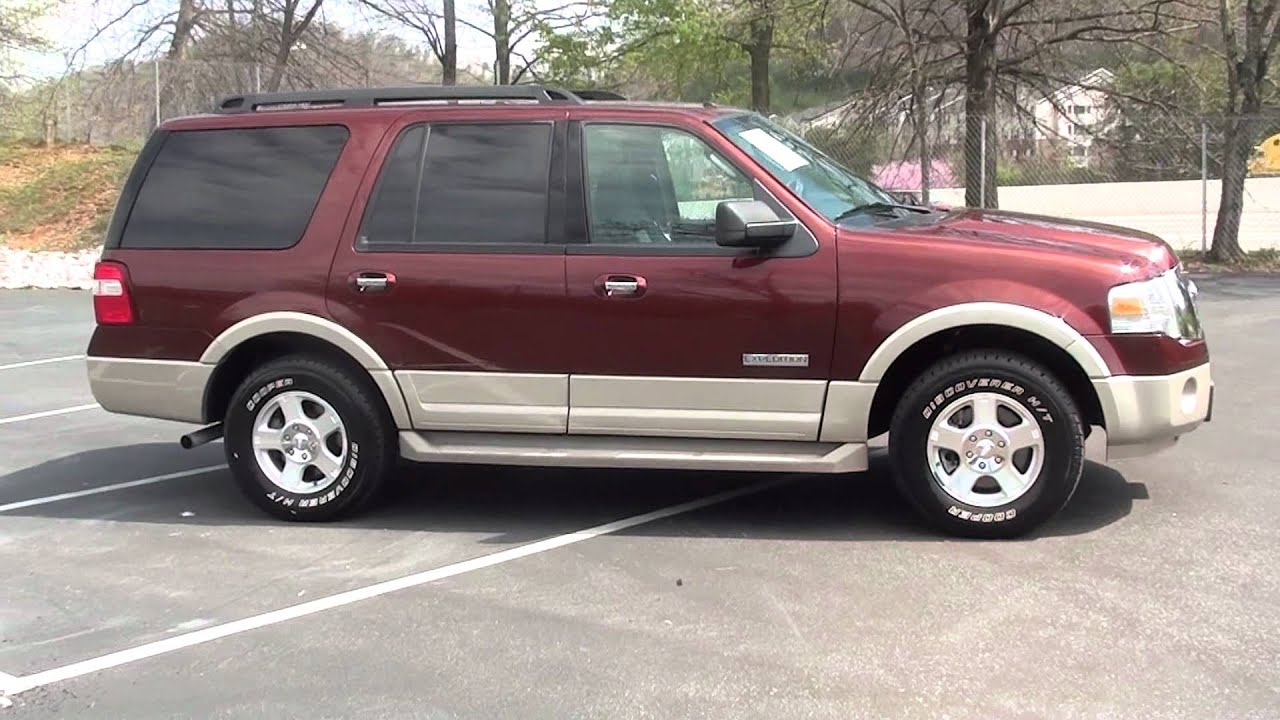 For sale 2007 ford expedition eddie bauer stk p6118 www lcford com