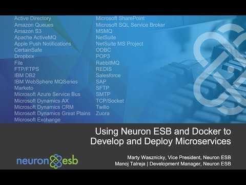 Using Neuron ESB and Docker to Develop Microservices