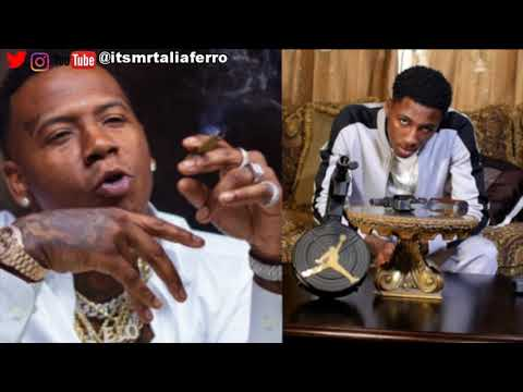 NBA Youngboy DIsses Moneybagg Yo The Same Day Their Collab Tape Drops,