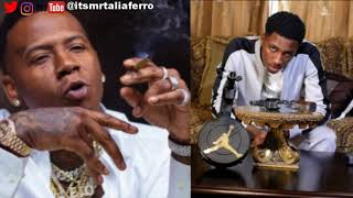 """NBA Youngboy DIsses Moneybagg Yo The Same Day Their Collab Tape Drops, """"F** That Tape"""""""