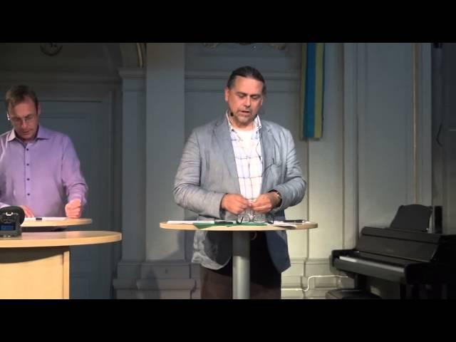Debatt mellan Humanisterna och Kristna värdepartiet