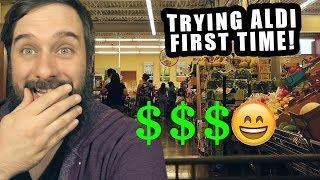 My First ALDI Shopping Trip