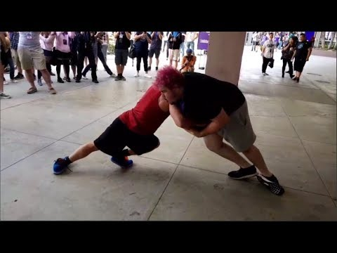 GreekGodx Meets Tyler1 at TwitchCon w/ Chat
