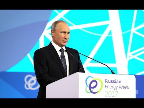 Vladimir Putin - Russian Energy Week Forum