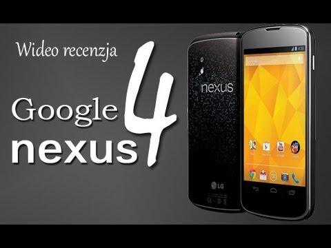 Google Nexus 4 (LG E960) - wideo recenzja FrazPC.pl