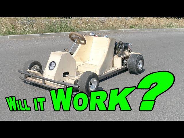 DIY Build a Electric Go Kart with 500W Power | Tutorial | Electric Car