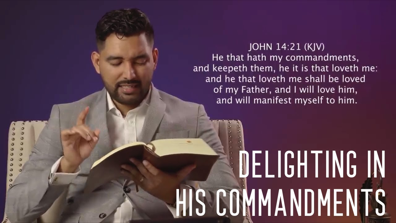 "1Minute Manna: ""Delighting in His Commandments"" 