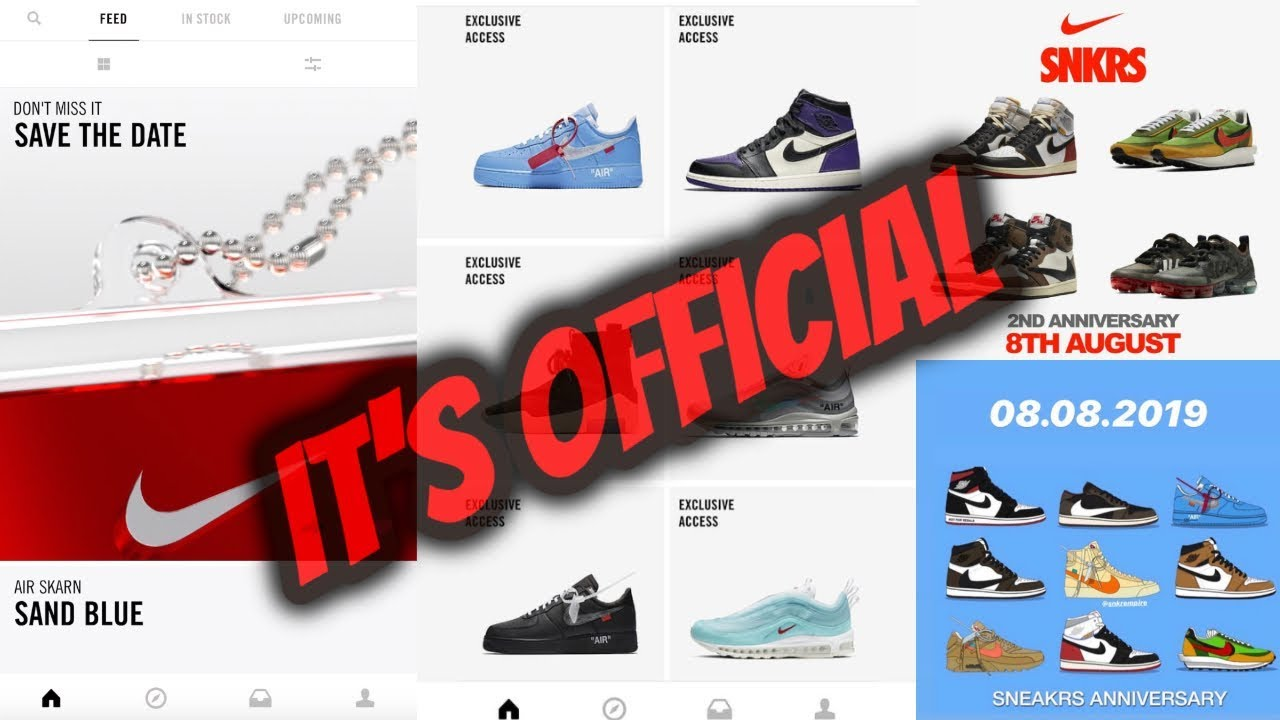 IT'S OFFICIAL!!! SNEAKRS APP EUROPE