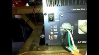 Samlex 3000 Watts pure sine wave Inverter.