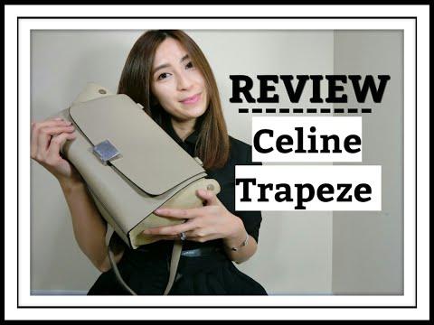 CELINE Trapeze Bag Review | Size Small/Mini | One Yr. Wear & Tear | Minimalist Style