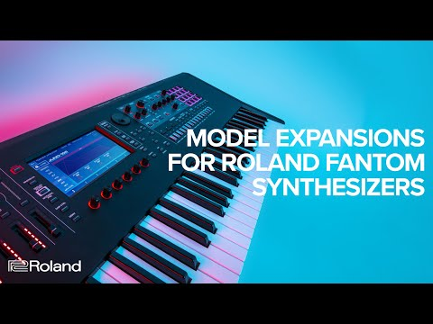 Model Expansions for Roland FANTOM Synthesizers (FANTOM 6, FANTOM 7, FANTOM 8)