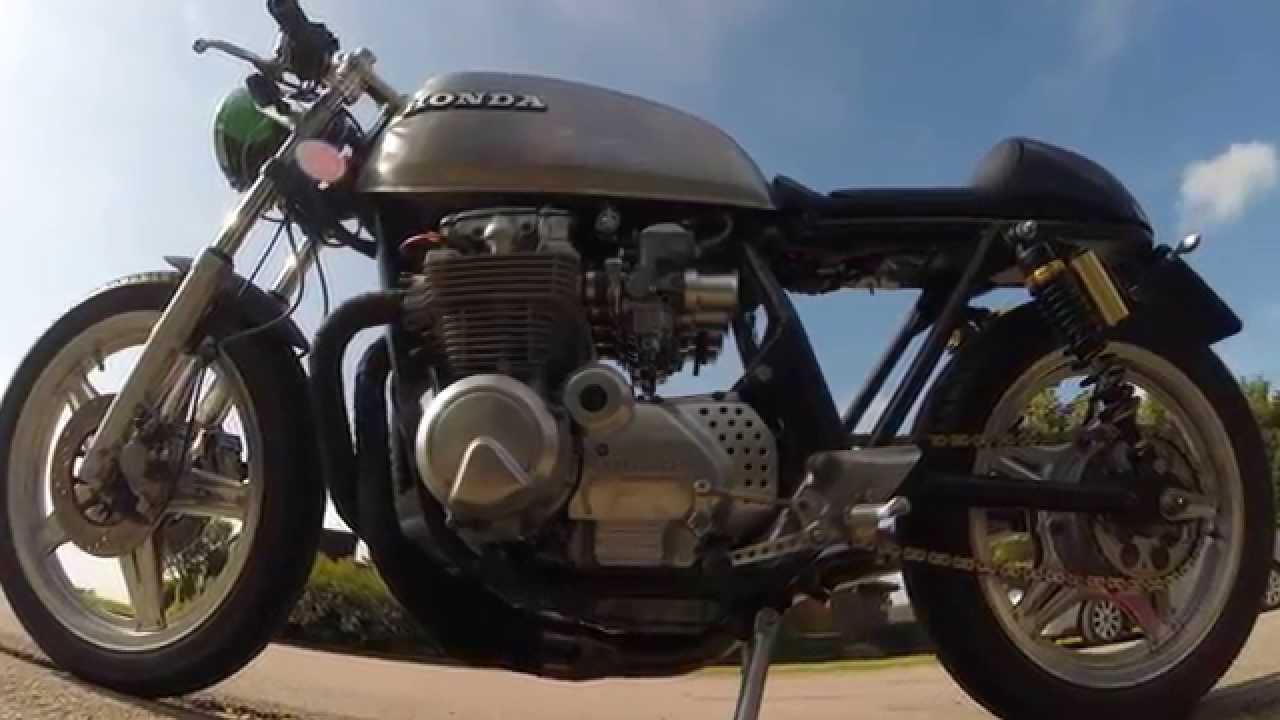 1980 honda cb650 rc03 café racer - youtube