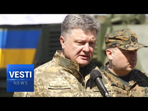 By ANY Means Necessary: Poroshenko Orders Armed Forces to Use Go ALL OUT on Donetsk