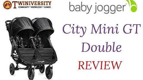 Baby Jogger City Mini GT Double Stroller Review