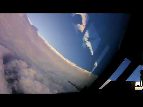 NOAA Hurricane Hunters inside eye of Irma - September 6, 2017