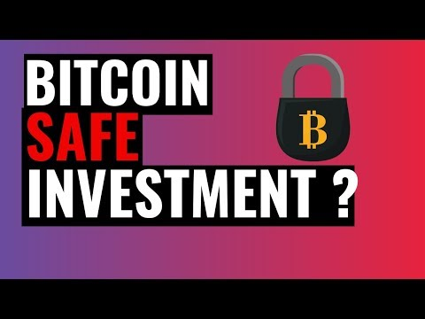 Are Bitcoins a Safe Investment?