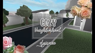ROBLOX | Bloxburg: Cozy Neighborhood 100K