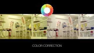 Color correction JVC-LS300CHE