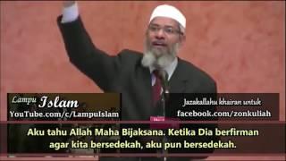 Cara Jitu Dr Zakir Naik MengIslamkan Orang